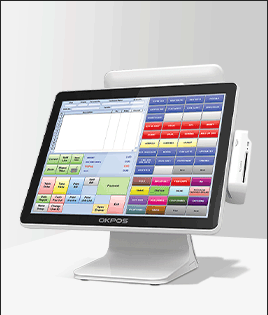Touch screen terminal ordering
