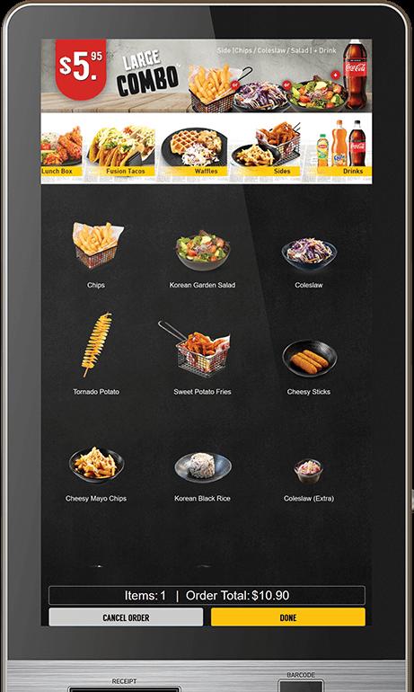self order kiosk fast food